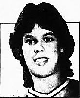 Portrait of Lisa Becker, Jefferson High School J-Hawk, Iowa girls basketball player. From The Gazette, Cedar Rapids, Iowa, December 15, 1982.