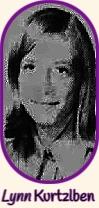 Portrait of Lynnora Kurtzlben, girls basketball player for Woden-Crystal Lake High School in IOwa. From the Globe-Gazette, Mason City, Iowa, January 28, 1970.