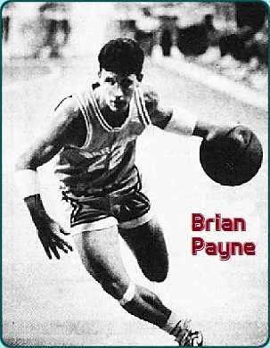 Image of boys basketball player for New Port Richie Christian School basketball team (Florida). Dribbling with basketball in left hand. Number 22. From The Pasco Tribune, Tampa, Florida, MArch 5, 1988. Photo by Jay Connor.