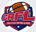 Costa Rica Footnall League (CRFL) logo.