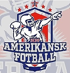 Logo for the Amerikansk Fotball Norge (Norway American Football)