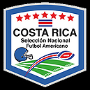 Log for the Costa Rica national team in American Football, reading: Costa Rica/Seleccion Nacional Futbol Americano.